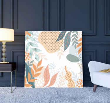 If you are looking for something simple with a flower design then this abstract flower canvas art got you covered. Original, fadeproof and durable.