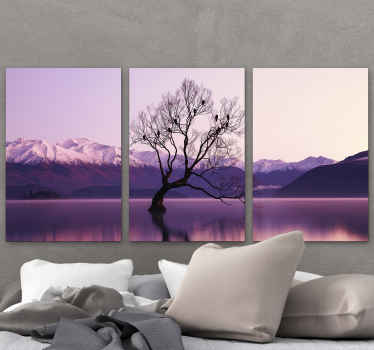 A very nice decorative landscape canvas print product that will really give your home more light! Make this original design yours now!