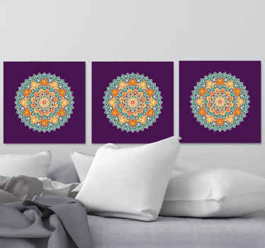 Decorate your home or any space with the luxury look it deserve with our sets of mandala canvas prints. Made of quality and durable.