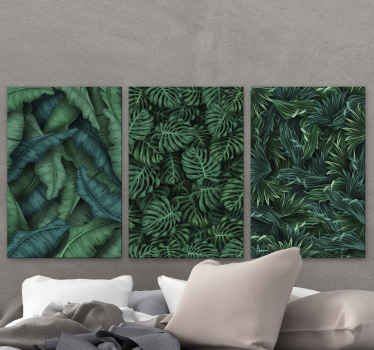 This lovely plant canvas art would be amazing on any space in a house and for an office space. It plant design illustrates monstera plant.