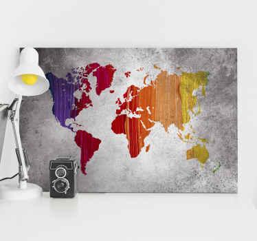 Odanıza eski bir merak dolabı görünümü vermek için, bir harita kanvas baskısının reprodüksiyonundan daha iyi ne olabilir. Bugün seninkini al!