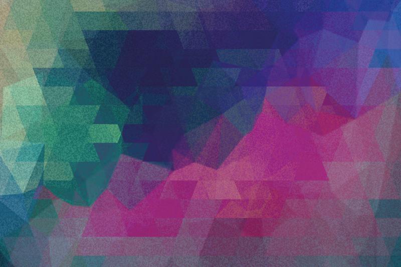 TenVinilo. Cuadro mosaico abstracto colorido. Este cuadro moderno se puede colocar en cualquier área de su casa. Diseño con mosaico colorido abstracto original