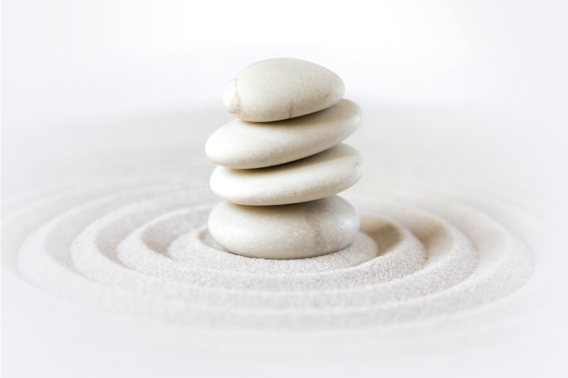 TenStickers. Zen stones stack canvas wall art. Looking at this Zen stones stack canvas art  print you would already know where you want to hang it in your home. Also suitable for an office.