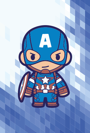 TenStickers. Captain America superhero wall art. Canvas print with Captain America. This is a great idea if your kid enjoys superhero stories. Order now ! Home delivery !