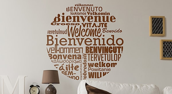 Text Wall Decals