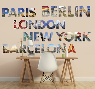 Stickers van locaties