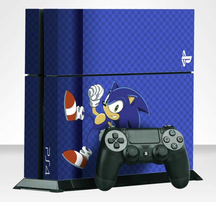 Vinilo para consola Sonic