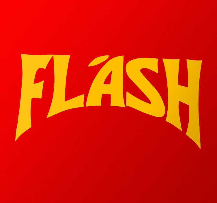 Vinilo decorativo Flash