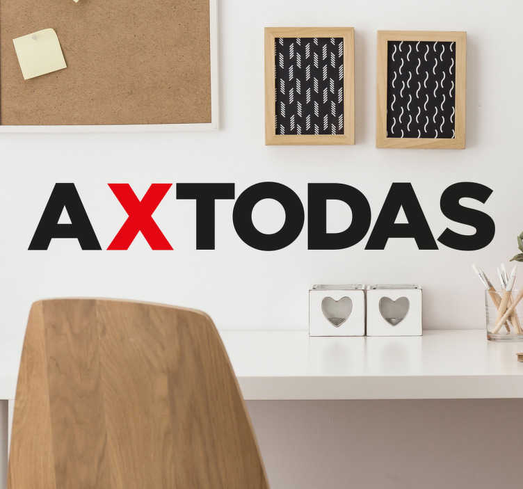 TenVinilo. Vinilo decorativo a x todas. Vinilos de frases motivacionales, ideales para decorar espacios comunes de tu hogar o tu propio despacho.