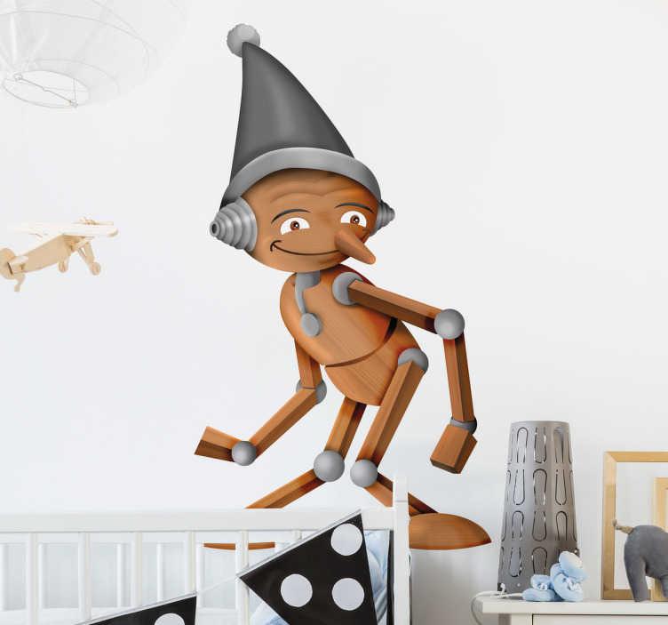 Adesivo cameretta Pinocchio