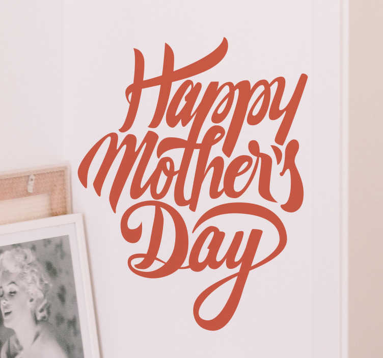 Scritta adesiva Happy Mother's day