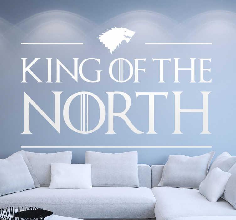 Vinilo Juego de Tronos King north