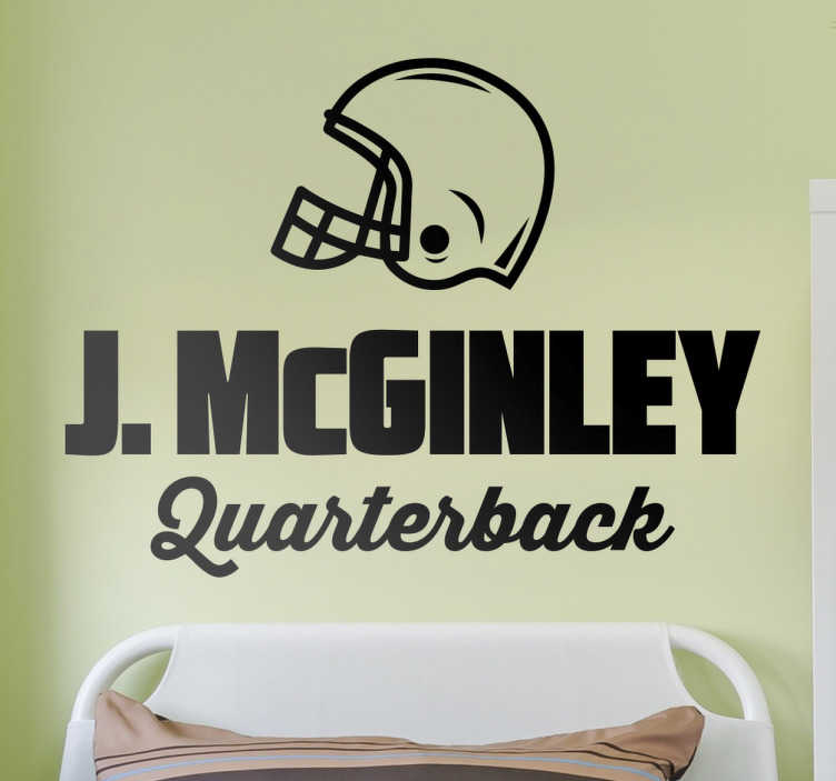 TenStickers. Wallsticker J. Mcginley. This wall sticker is perfect for anybody who is fan of the legendary J. McGinley this sticker is perfect.