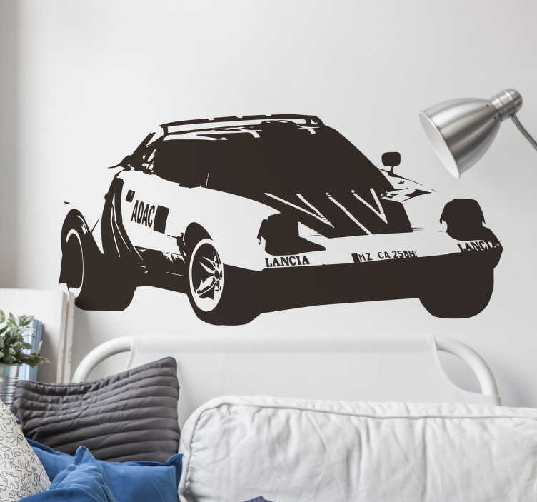 Vinil decorativo carro desportivo