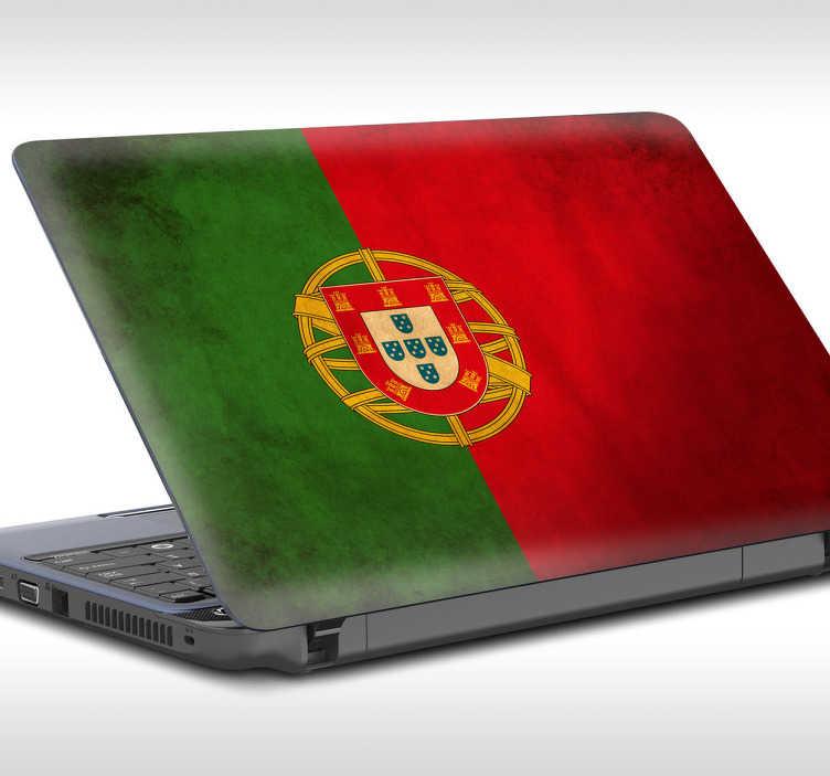 Pegatinas para portátil bandera de Portugal