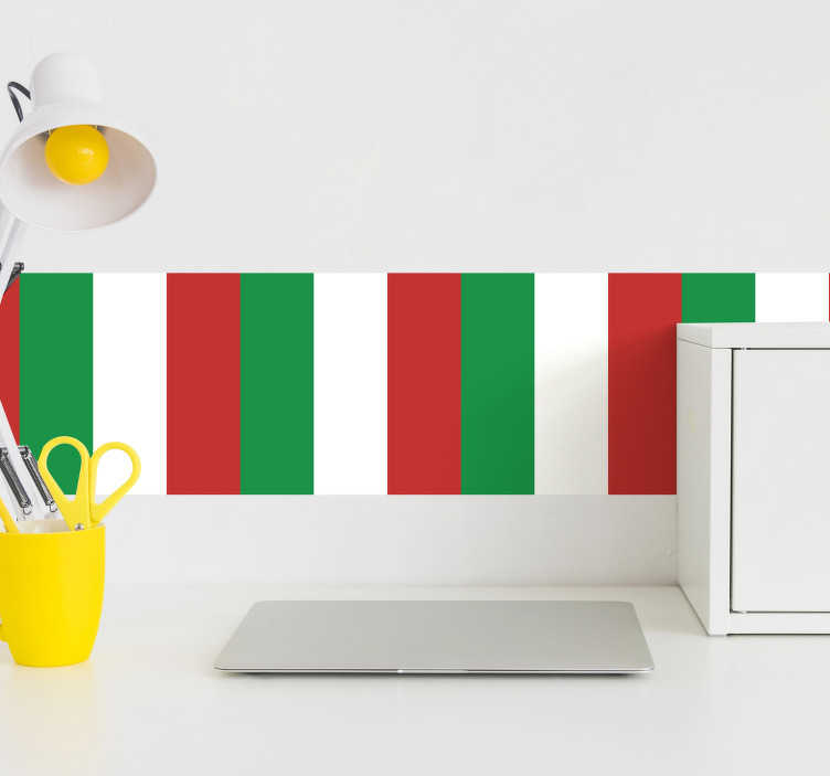 Pellicola bandiera italia