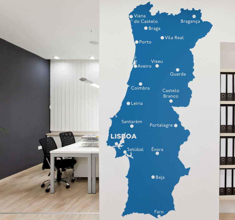 Vini Decorativo Continente Distritos