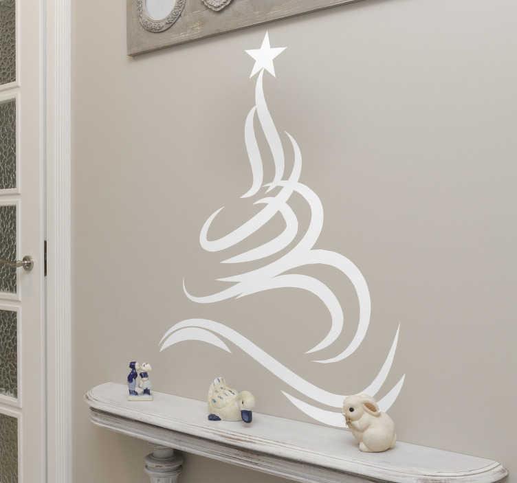 Stickers kerstboom filigraan
