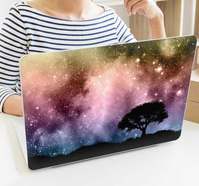 TenStickers. Personalised Laptop Sticker. Send on of your favourite pictures and we can create you a custom-made laptop decal. Our personalised laptop skins are decorative and easy to apply.