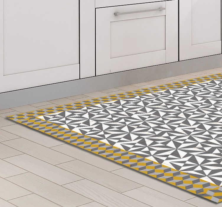 TenVinilo. Vinilos para suelos mosaico árabe. Decora las paredes de tu casa o el suelo con un vinilo decorativo muy especial tipo azulejo hidráulico, perfecto para tu salón, pasillo o cocina.