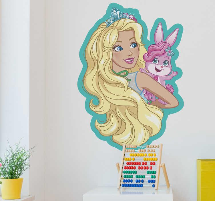Vinilo Barbie y Locksley longhair