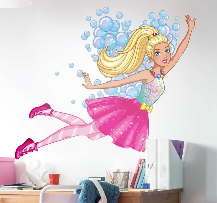 Adesivo de parede Barbie Dreamtopia