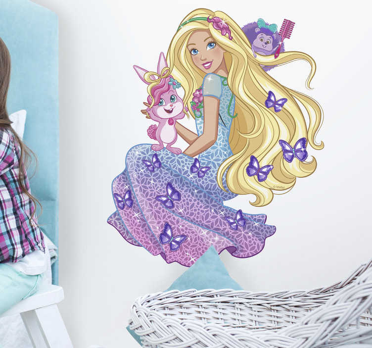 Vinilo Dreamtopia Barbie peinados