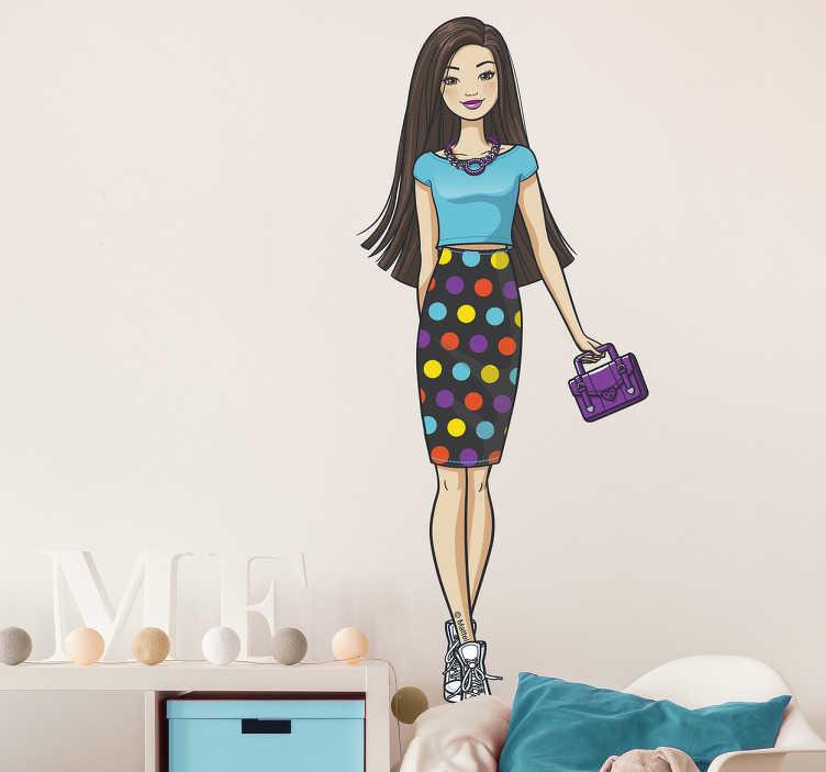 Vinilos Barbie modelo