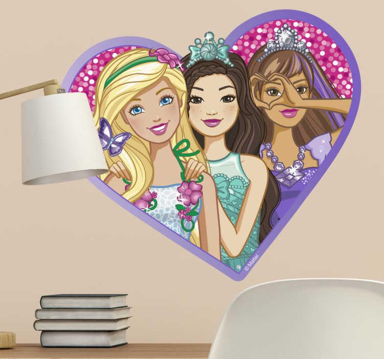 Pegatinas Barbie Nikki y Teresa