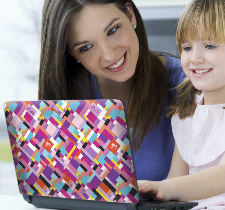 Sticker PC da moda Barbie Fashion