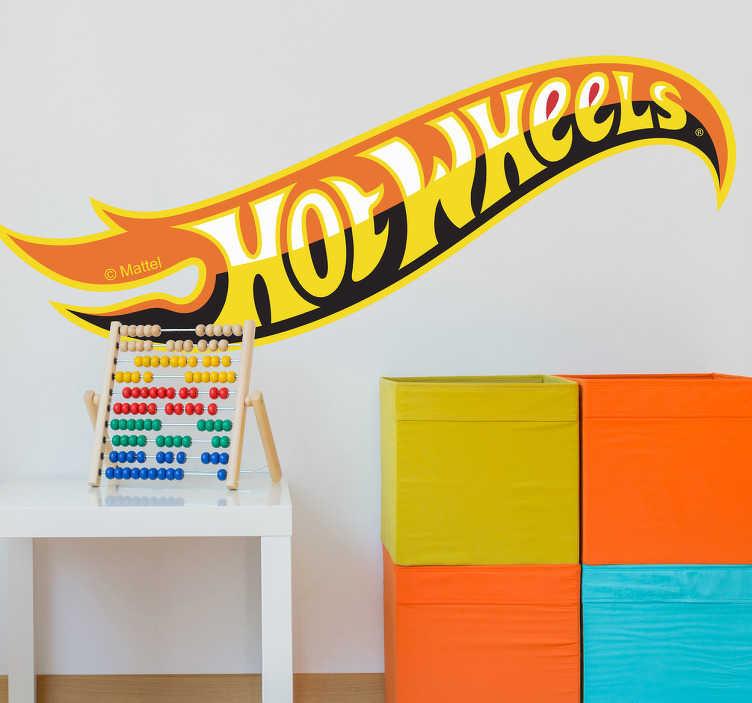 Adhesivo logo Hot Wheels