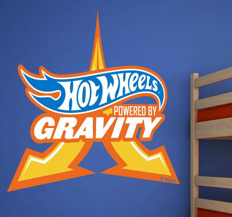 Pegatinas Hot Wheels gravity