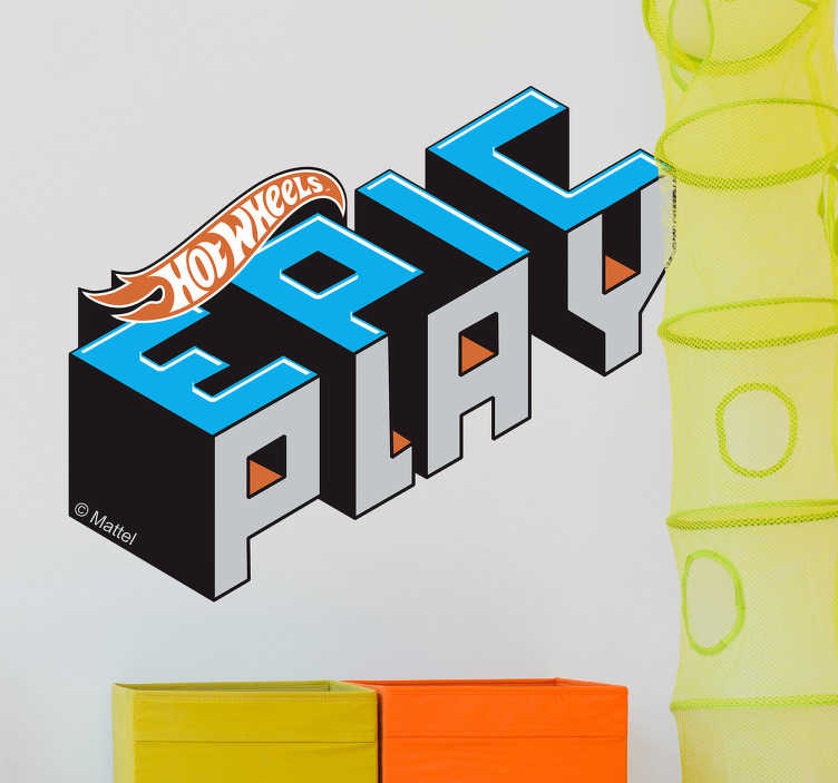 Stickers Hot Wheels Epic Play logo