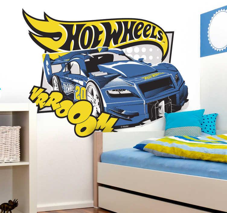 Vinilo decoración Hot Wheels cars