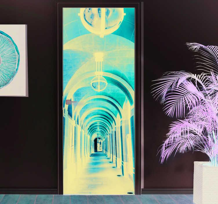 Foto mural do corredor