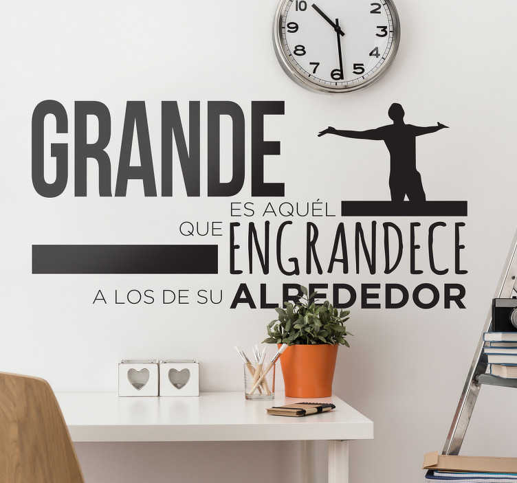 TenStickers. Motivational quotes sticker. Motivational quotes wall stickerto decorate the home and office space. It is available in different colours and size options.