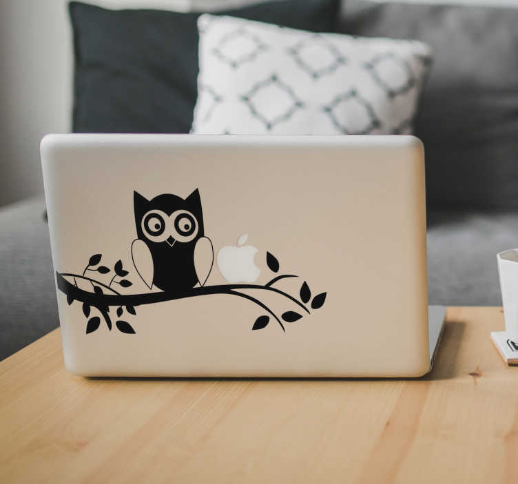TenStickers. Bat on Tree Laptop Sticker. Add a bat to your Macbook with this superb laptop decal! Discounts available.