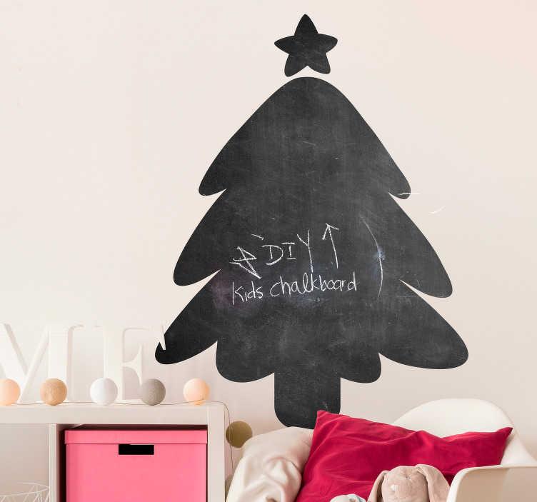 TENSTICKERS. クリスマスの黒板ステッカー. このクリスマスの黒板のステッカーでこの12月あなたの家を飾る!