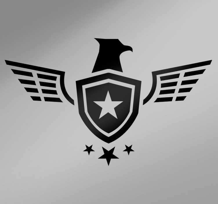 TenStickers. Sticker Tuning Moto Étoile Armée. Découvrez une nouvelle manière de décorer votre moto ou voiture avec notre sticker véhicule de l'armée avec étoile. Promo Exclusives par email.