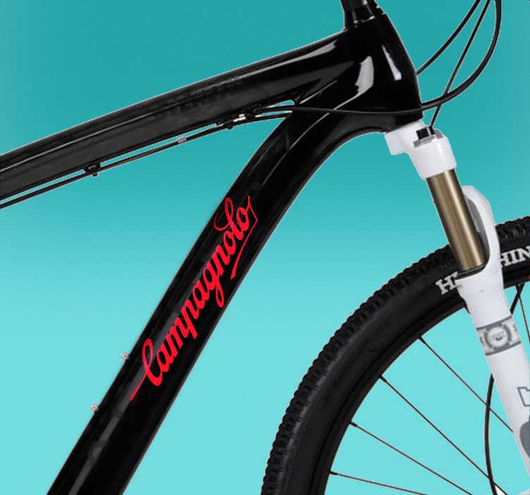 Naklejka na rower logo Campagnolo