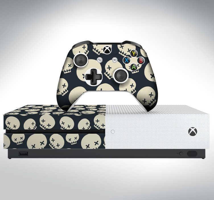 TenStickers. Sticker Xbox Tête de Mort. Découvrez comment personnaliser la décoration de votre Xbox One avec notre sticker de tête de mort pour un résultat grantit. Envoi Express 24/48h.