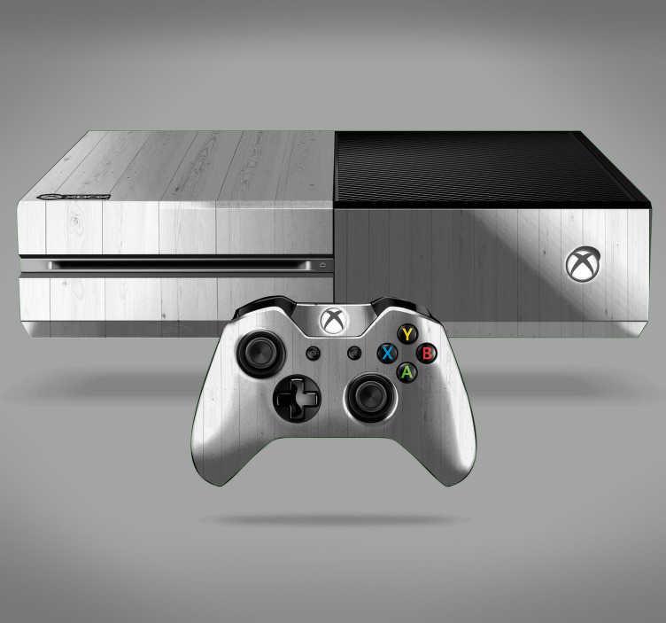 TenVinilo. Vinilo ornamental madera blanca textura. Fantástica pegatina adhesiva para Xbox y controladores con estampado de madera en tonos blancos. +10.000 Opiniones satisfactorias.