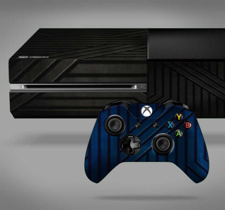 TenVinilo. Vinilo con textura metálica. Original vinilo adhesivo con textura metálica en color azul y negro ideal para renovar tu Xbox y controladores. Promociones Exclusivas vía e-mail.