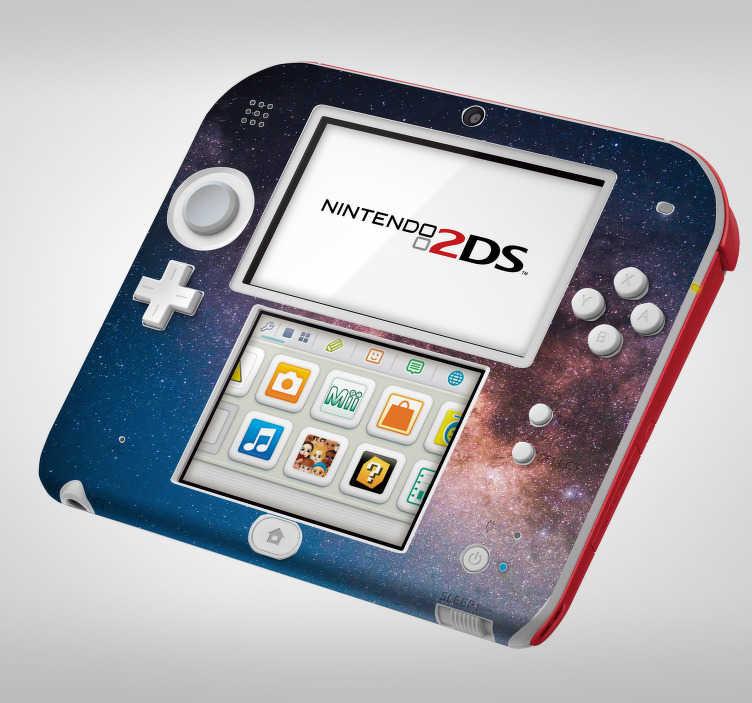 TenStickers. Sticker Science Galaxie pour Nintendo. Découvrez une nouvelle façon de décorer votre console Nintendo grâce à notre sticker galaxie pour décorer comme vous voulez. Application Facile.
