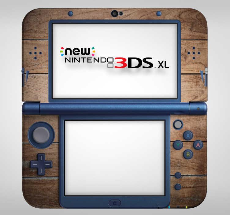 TenVinilo. Vinilo con textura madera nintendo. Original vinilo decorativo adhesivo para Nintendo con textura de madera ideal para renovar tu dispositivo. Promociones Exclusivas vía e-mail.