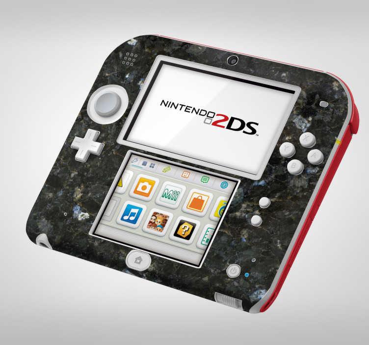 TenStickers. Sticker Texture Marbre Foncé pour Nintendo. Découvrez notre nouveau sticker console pour votre nintendo ainsi que son design soigné de marbre foncé pour vos parties de jeux. Achat Sécurisé et Garantit.