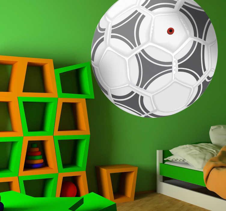 Naklejka dekoracyjna piłka Adidas