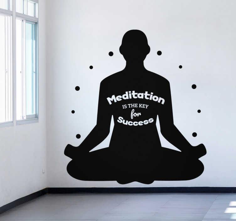 TenStickers. Sticker Motivation Kundalini Yoga. Découvrez comment vous pouvez décorer une de vos chambre avec un sticker mural yoga rien que pour vous. Promo Exclusives par email.