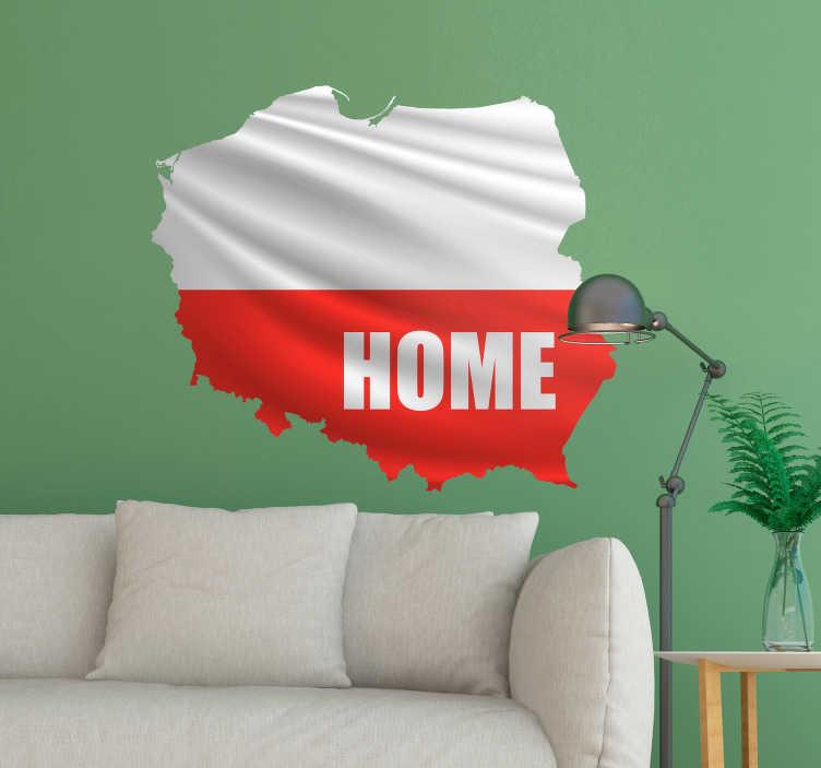 TenStickers. Fototapeta Granice Polski Home. Mapa Polski naklejka na ścianę do salonu to wspaniały pomysł na dekoracje. Sprawdź naklejki do salonu w naszym katalogu. Codziennie nowe projekty!