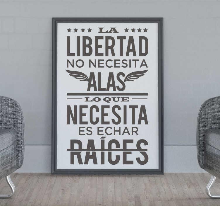 TenVinilo. Vinilo frase célebre Octavio Paz. Original pegatina adhesiva de estilo minimalista formada por una frase célebre del poeta mexicano Octavio Paz. Descuentos para nuevos usuarios.
